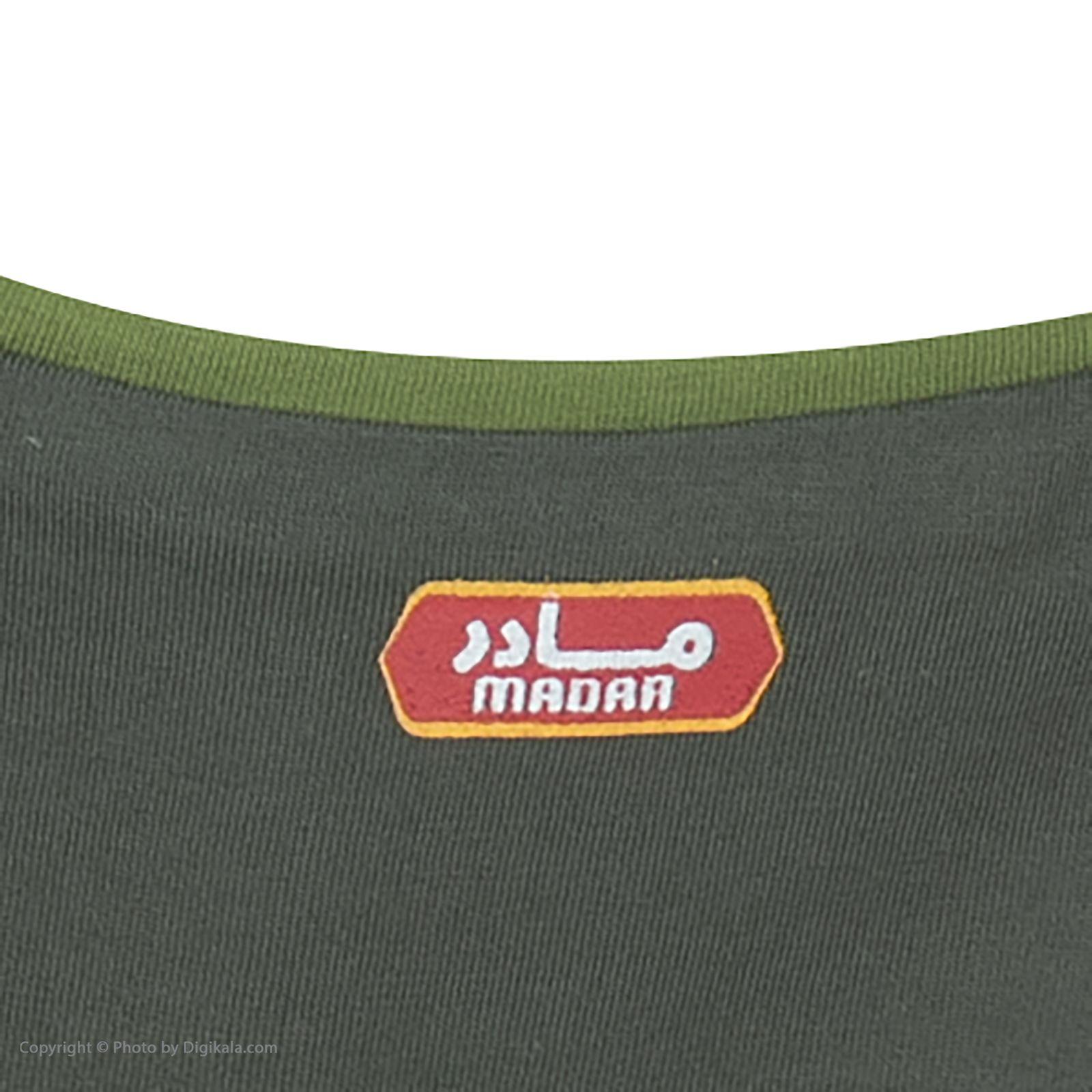 ست تی شرت و شلوارک راحتی مردانه مادر مدل 2041106-42 -  - 8