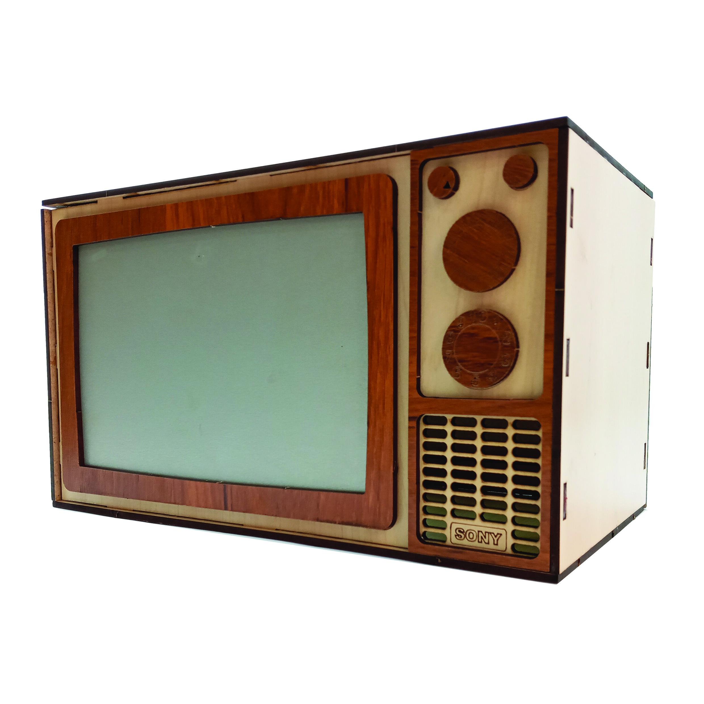 جای دستمال کاغذی طرح تلویزیون مدل DK-04