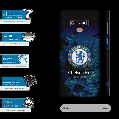 برچسب پوششی 360درجه ماهوت مدل Chelsea-FC مناسب برای گوشی موبایل سامسونگ Galaxy Note9