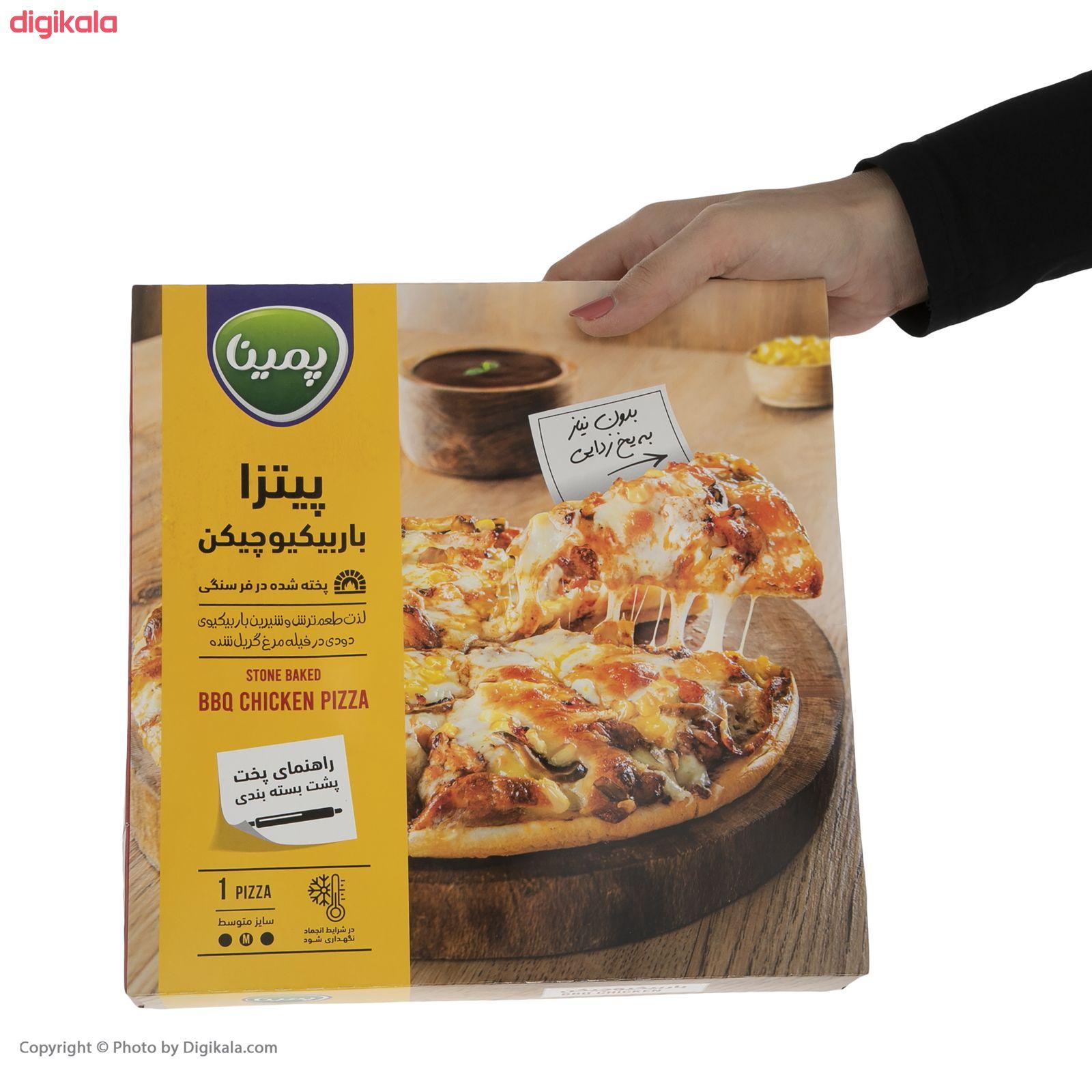 پیتزا باربیکیو چیکن پمینا کاله مقدار 470 گرم main 1 3