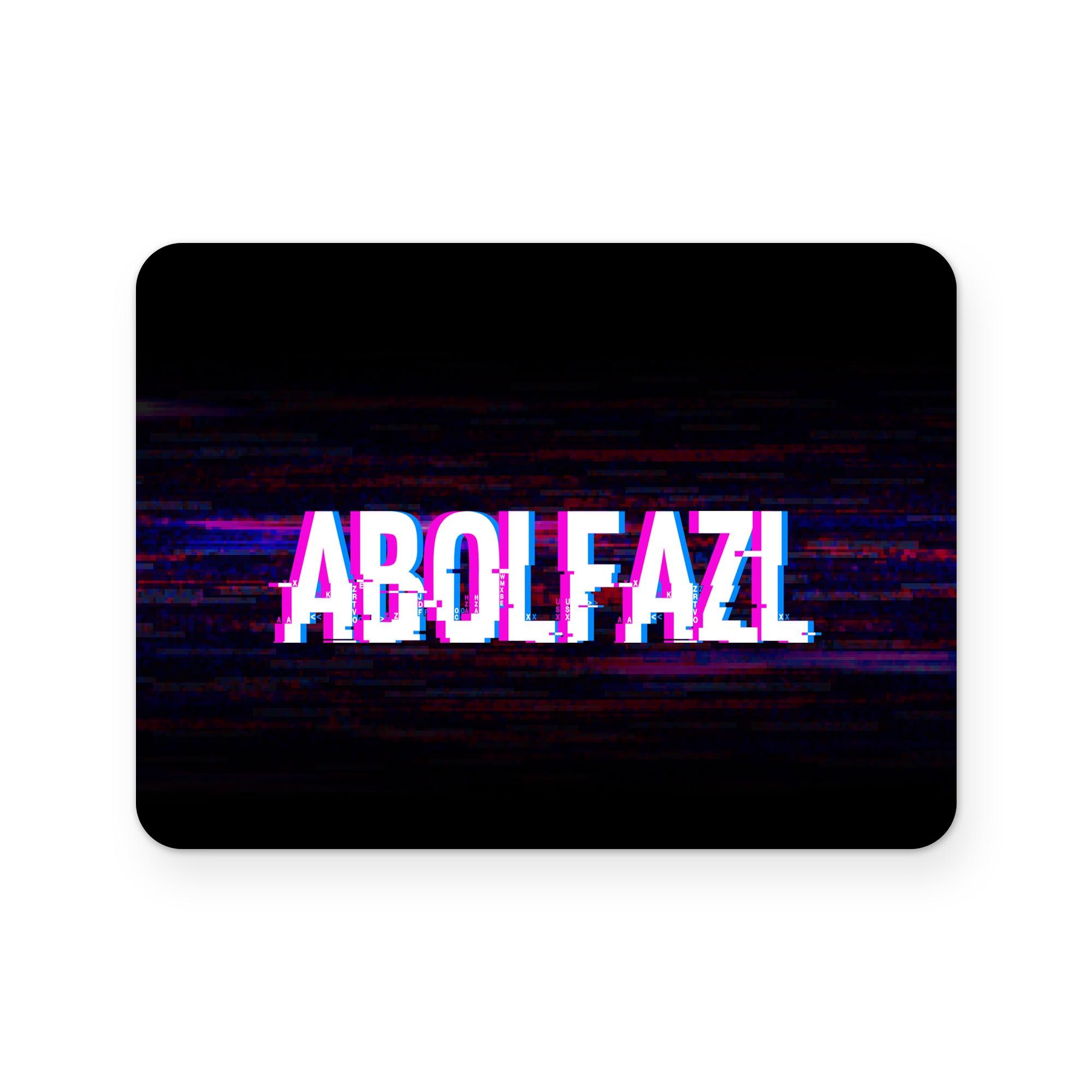 بررسی و {خرید با تخفیف}                                     برچسب تاچ پد دسته پلی استیشن 4 ونسونی طرح ABOLFAZL                             اصل