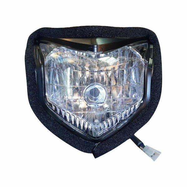 چراغ جلو موتور سیکلت مدل P23 مناسب برای جی وای 200 سی سی