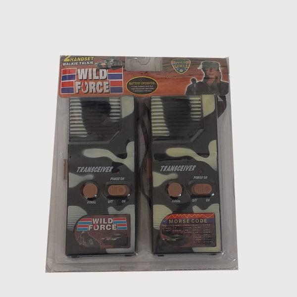 بیسیم اسباب بازی مدل 001 مجموعه 2 عددی