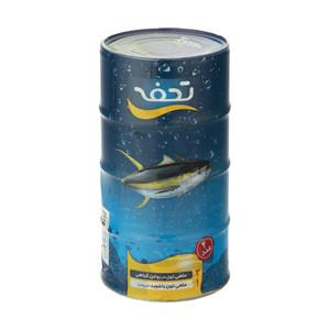 کنسرو ماهی تون در روغن گیاهی و شوید تحفه - مجموعه 4 عددی