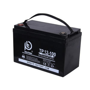 باتری خورشیدی تلکو پاور مدل TP 12-100 ظرفیت 100 آمپر ساعت