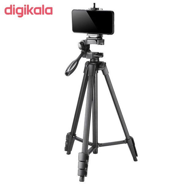 سه پایه دوربین نست مدل NT-510 به همراه گیره نگهدارنده موبایل main 1 8