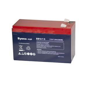 باتری یو پی اس 12 ولت 7.5 آمپر باینو مدل BB12-7.5