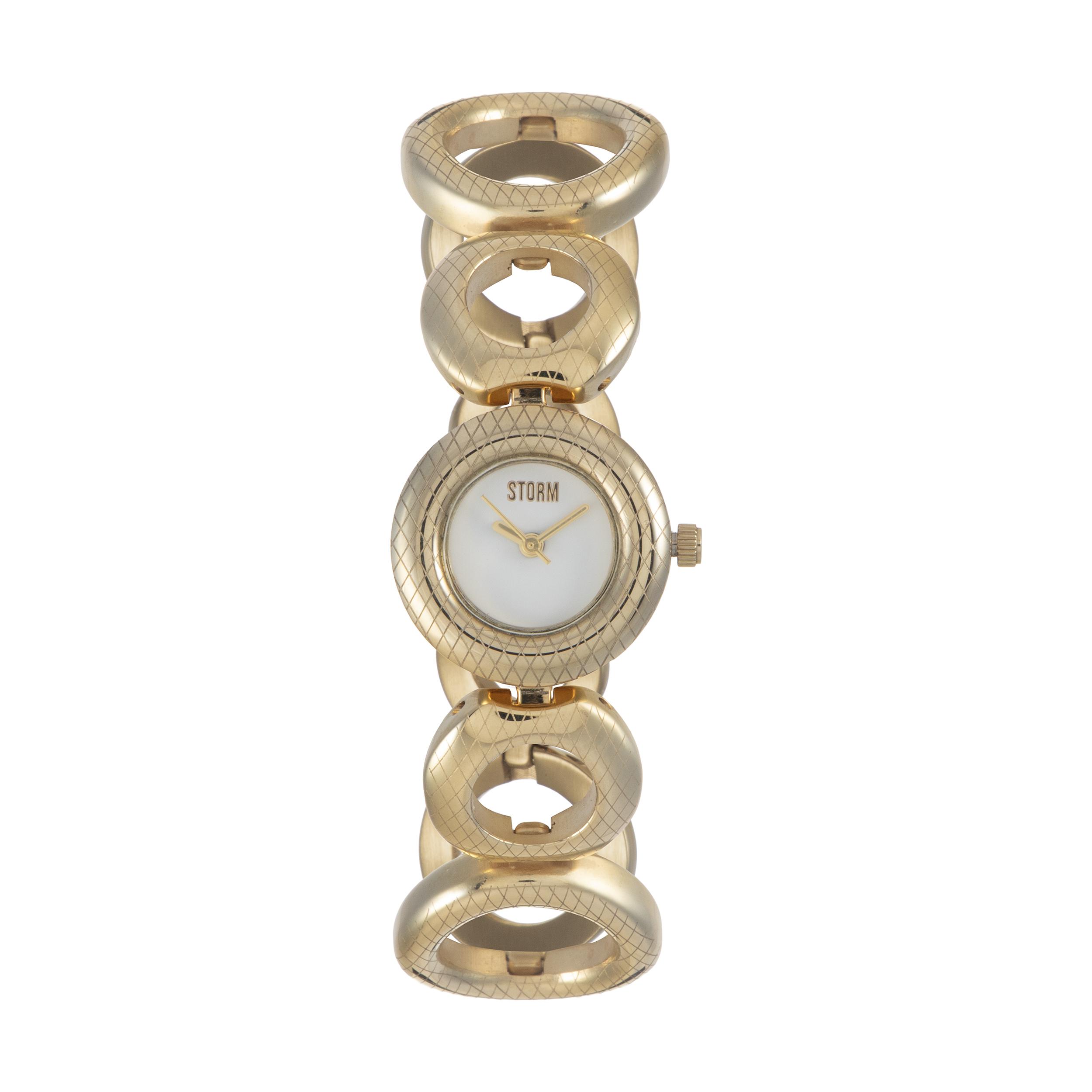 ساعت مچی عقربه ای زنانه استورم مدل ST 47124-GD              ارزان