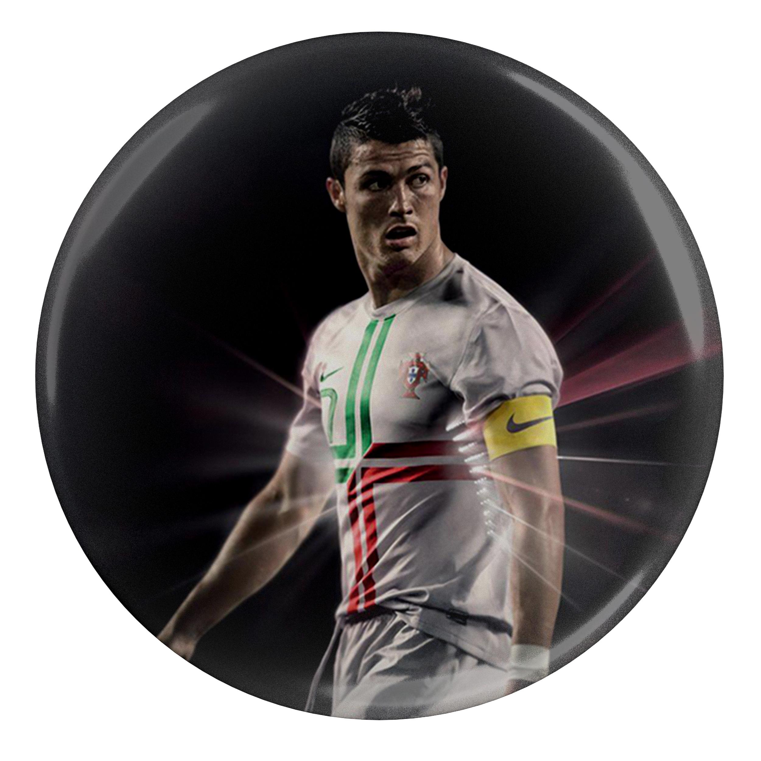 پیکسل طرح بازیکن فوتبال کریستیانو رونالدو پرتغال مدل S5285