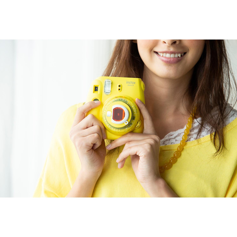 دوربین عکاسی چاپ سریع فوجی فیلم مدل Instax Mini 9 Clear main 1 35