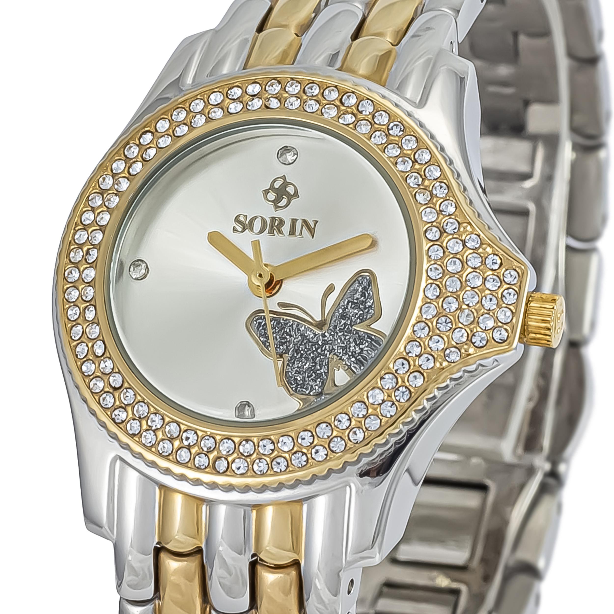 ساعت مچی عقربه ای زنانه سورین مدل SS0423L              ارزان
