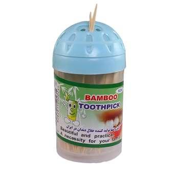 خلال دندان بامبو مدل 01 بسته 100 عددی