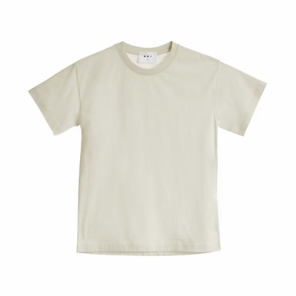 تی شرت آستین کوتاه زنانه کوی مدل هی گرل رنگشیری