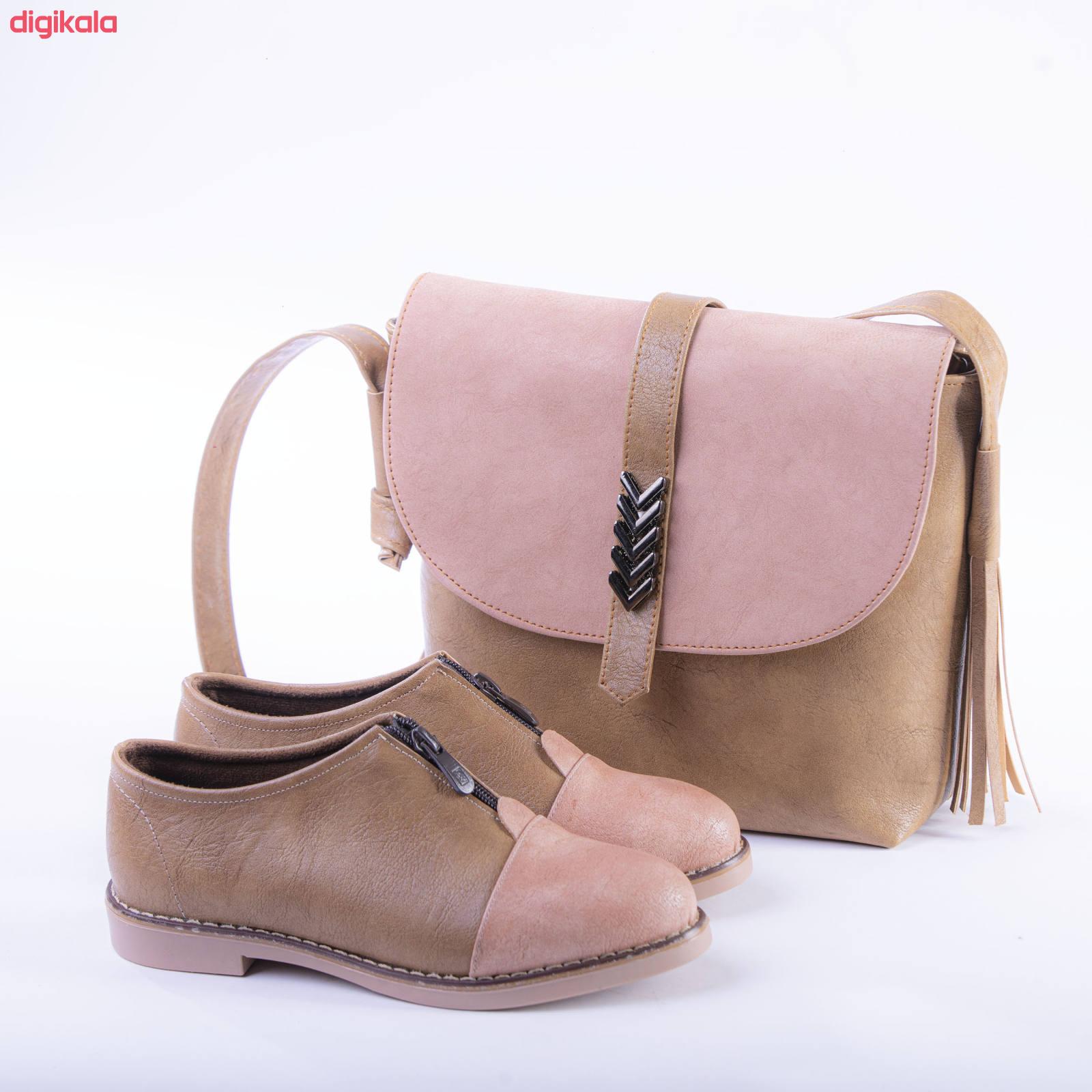 ست کیف و کفش زنانه مدل 001 main 1 2