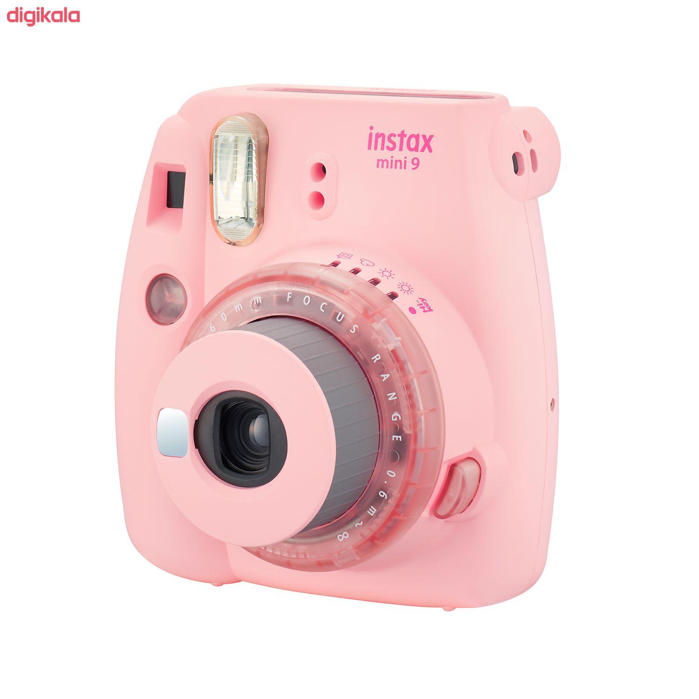 دوربین عکاسی چاپ سریع فوجی فیلم مدل Instax Mini 9 Clear main 1 4