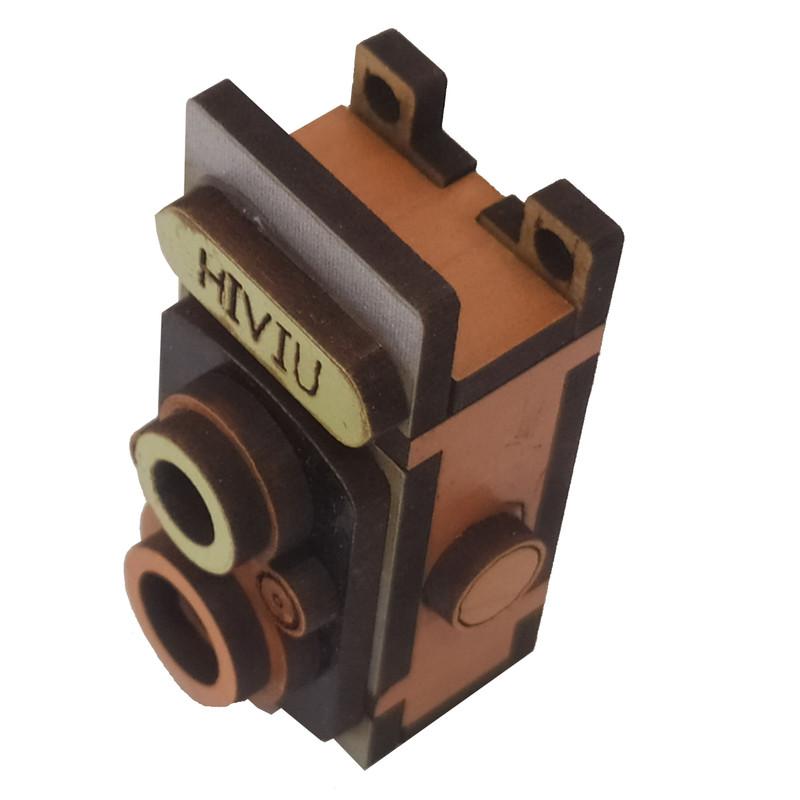 آویز گردنبند طرح دوربین کد hiviu Lu01