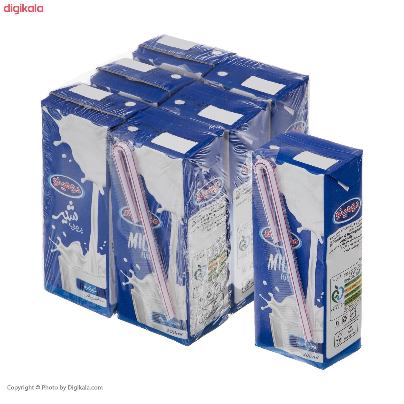 شیر پر چرب دومینو - 0.2 لیتر  بسته 6 عددی main 1 8