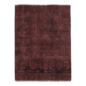 فرش دستبافت رنگ شده نیم متری نیروانا کد 10087