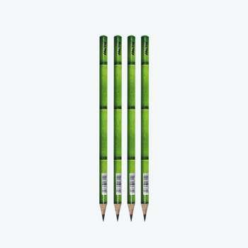 مداد مشکی فکتیس طرح بامبو کد 04 بسته 4 عددی