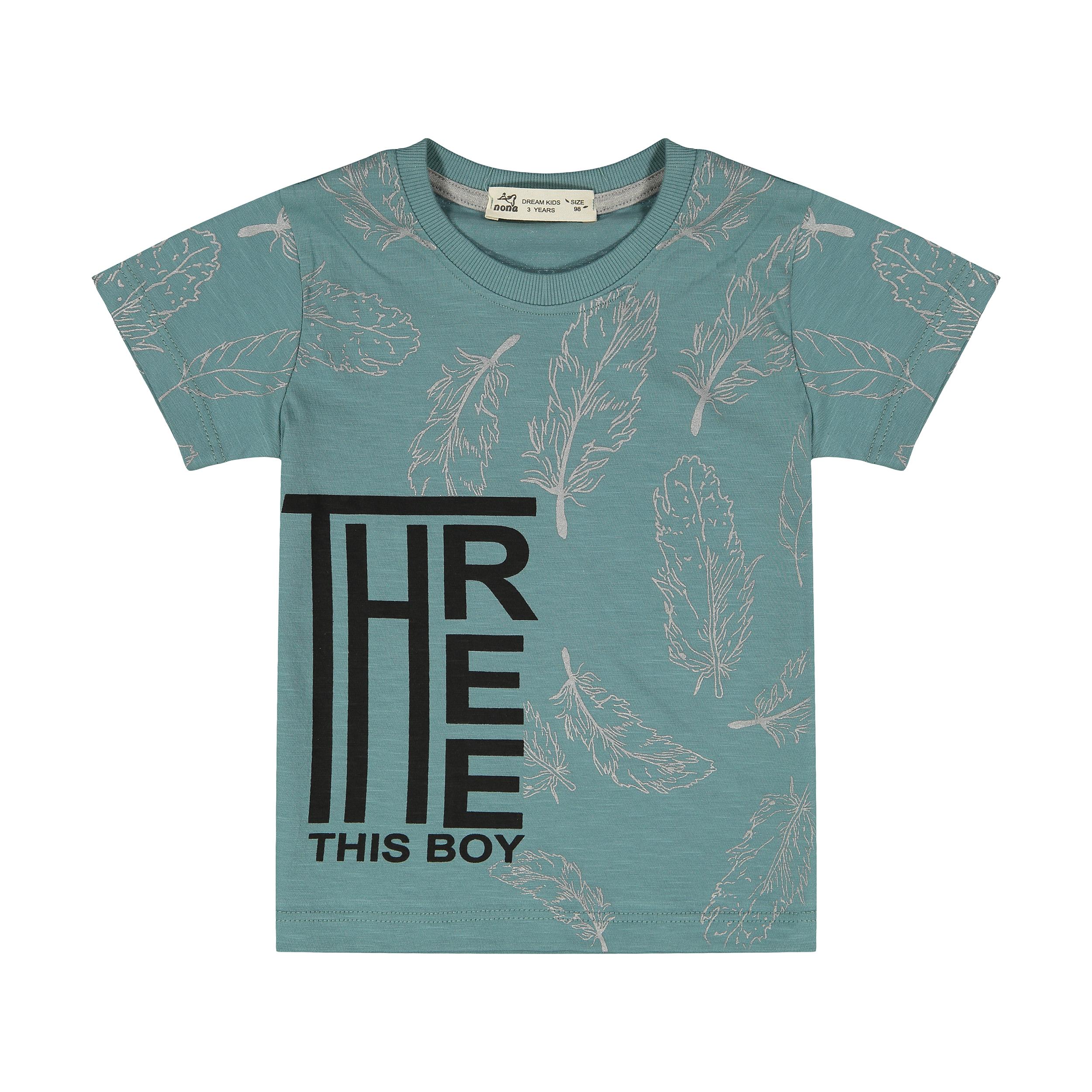 تی شرت پسرانه نونا مدل 2211287-46
