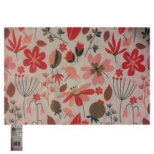 زیر بشقابی هوم اند لایف مدل ویلسون طرح گل و برگ های رنگی