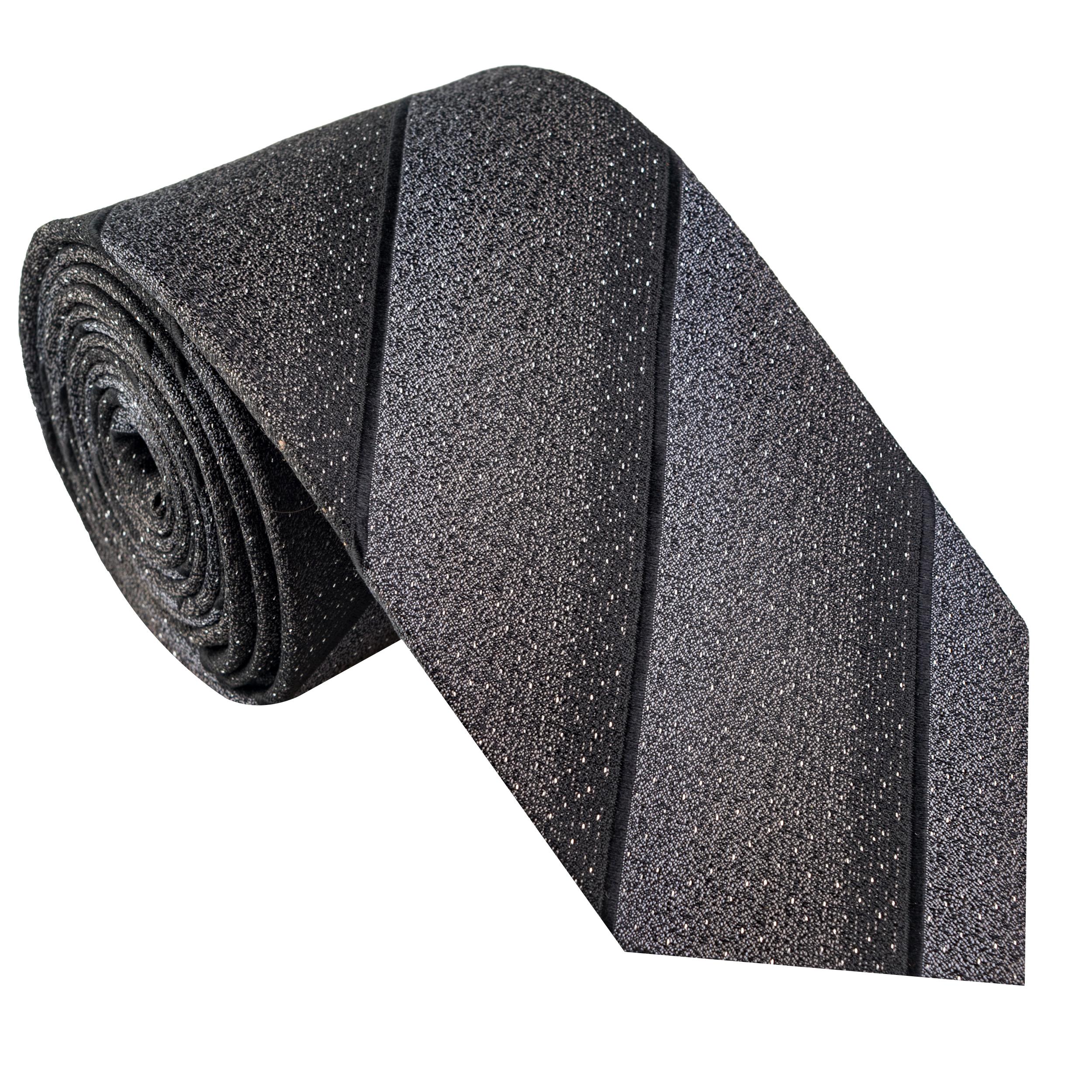 کراوات مردانه جیان فرانکو روسی مدل GF-ST524-BK