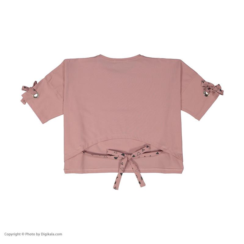 تی شرت دخترانه پیانو مدل 1830-82