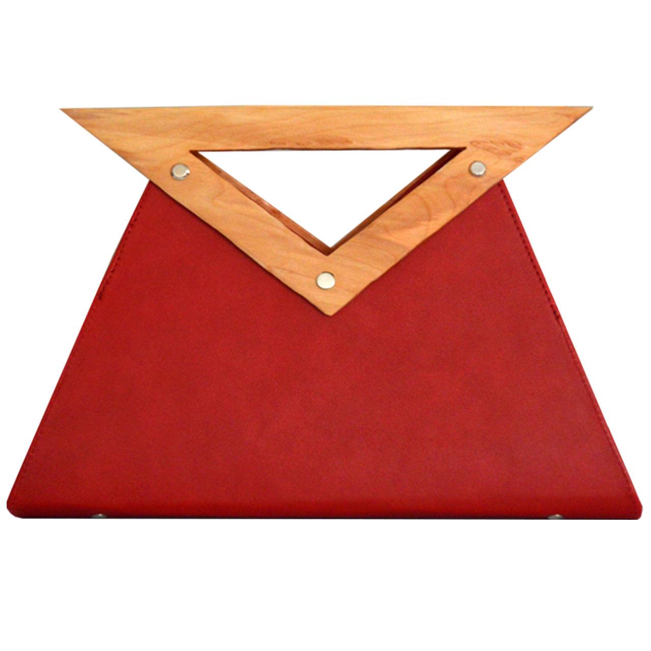 کیف زنانه دالاوین مدل دسته چوبی -  - 6