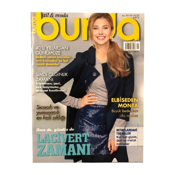 مجله burda ژانویه 2011