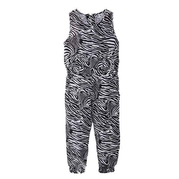 سرهمی دخترانه مدل zebra01