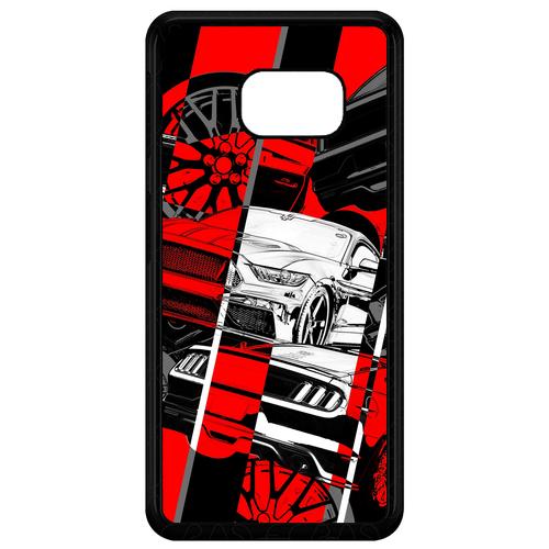 کاور طرح خودرو مدل CHL50218 مناسب برای گوشی موبایل سامسونگ Galaxy S7