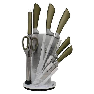 سرویس چاقو آشپزخانه 8 پارچه پریما کد G-212