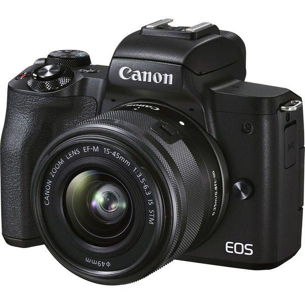 دوربین دیجیتال بدون آینه کانن مدل EOS M50 Mark II kit 15-45mm f/3.5-6.3 IS STM