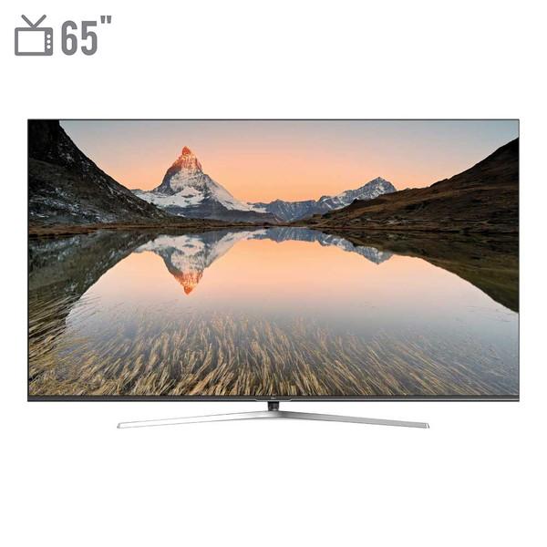 تلویزیون ال ای دی هوشمند جی پلاس مدل GTV-65LQ721S سایز 65 اینچ