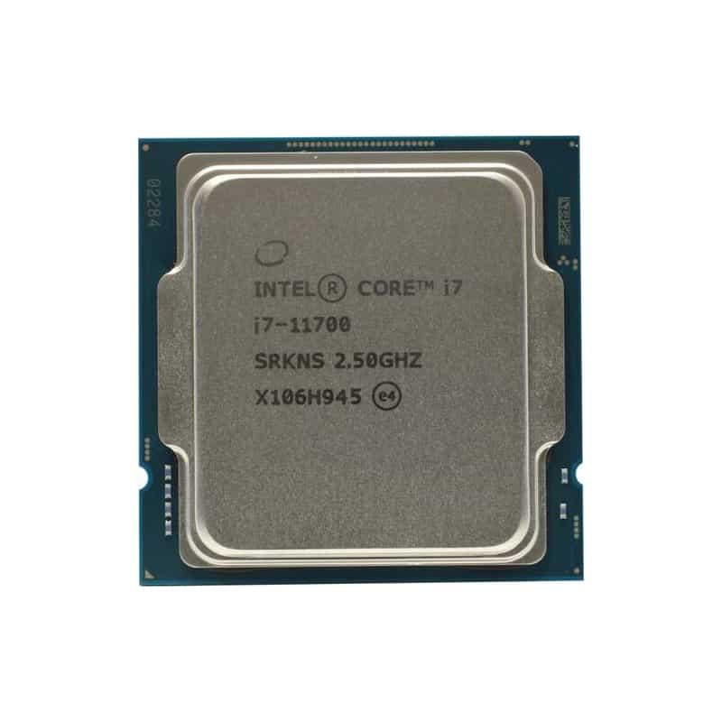 بررسی و {خرید با تخفیف} پردازنده مرکزی اینتل سری Rocket Lake مدل Core i7-11700 اصل