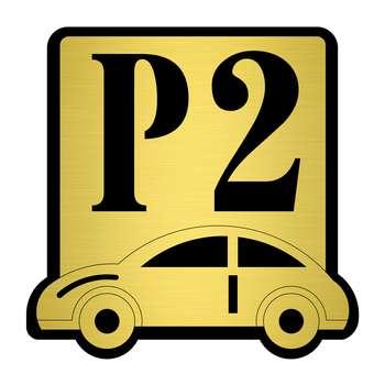 تابلو نشانگر مستر راد طرح پارکینگ شماره 2 کد P-BG 02