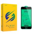 محافظ صفحه نمایش سرامیکی فلش مدل +HD مناسب برای گوشی موبایل اپل iPhone 6