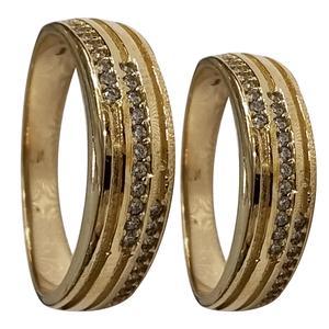 ست انگشتر زنانه و مردانه سلین کالا مدلce-As4