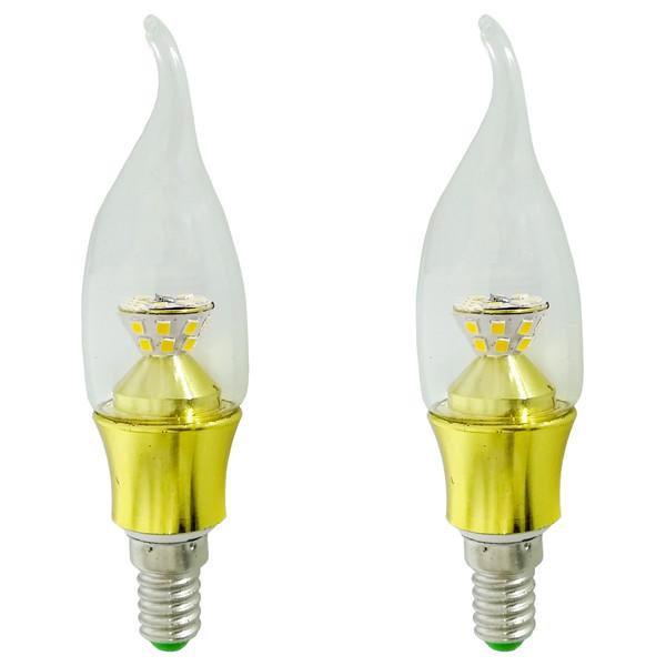 لامپ اس ام دی 5 وات زد اف آر کد RO83 پایه E 14 بسته دو عددی