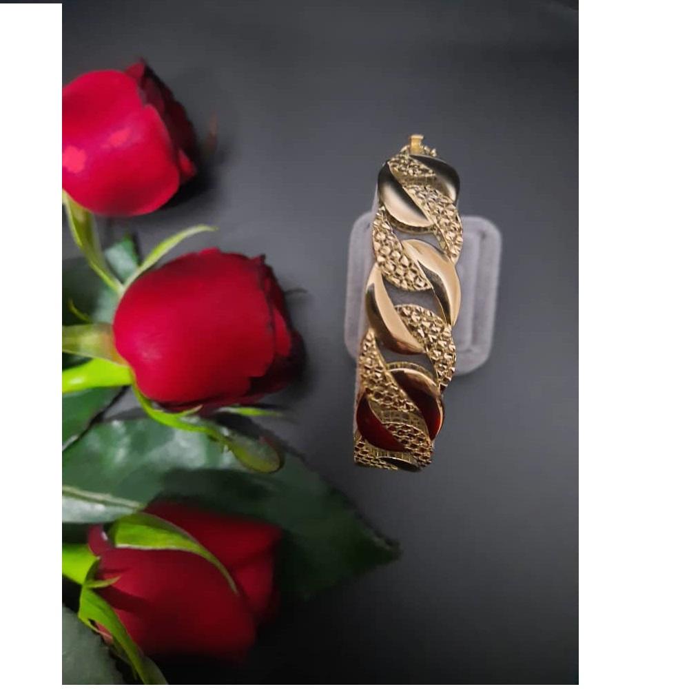 دستبند طلا 18 عیار زنانه گالری یار طلا کد DA01