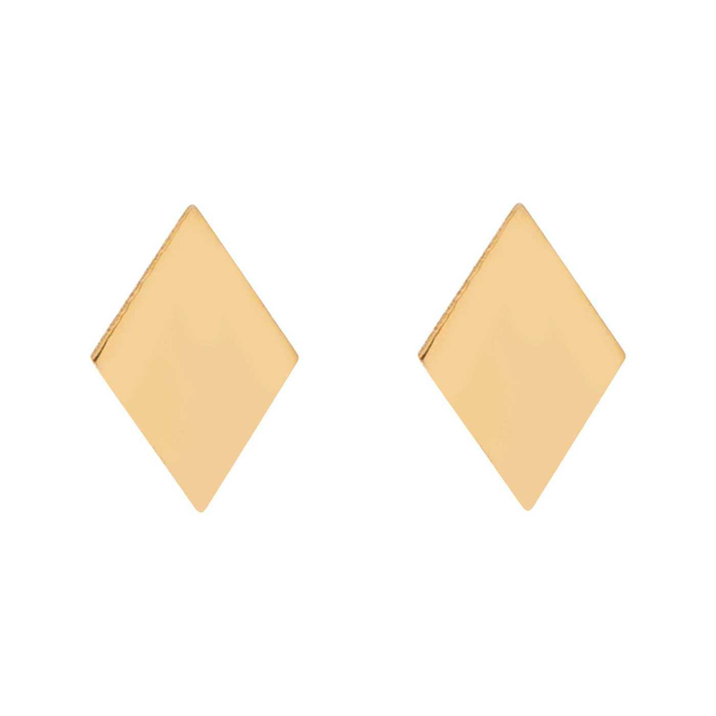 گوشواره طلا 18 عیار زنانه کانیار گالری کد GOA102 -  - 3