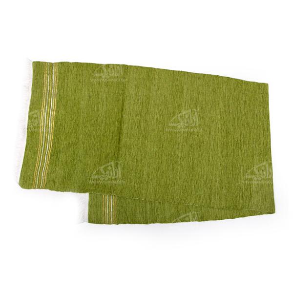 حوله استخر آرانیک پنبه ای دستباف رنگ سبز طرح ساده مدل 1714000003