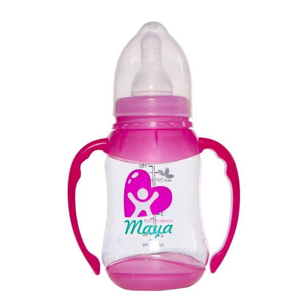 شیشه شیر نوزاد مایا مدل 001 گنجایش 150 میلی لیتر