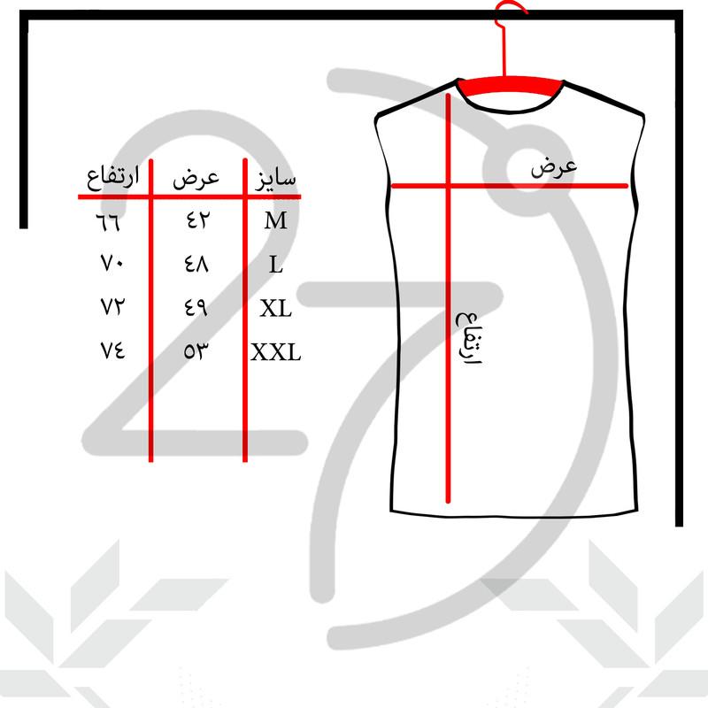 تاپ مردانه 27 مدل M کد B08 رنگ طوسی