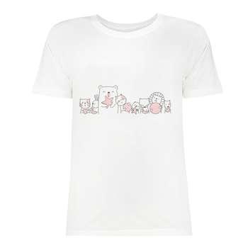 تی شرت زنانه کد SK0004-99