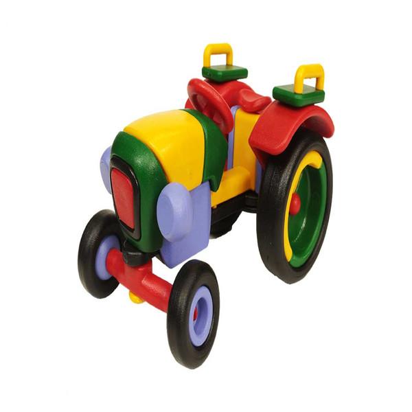 ساختنی آی توی مدل لگو دوبی تراکتور