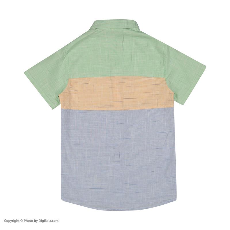 پیراهن پسرانه پیانو مدل 01541-23