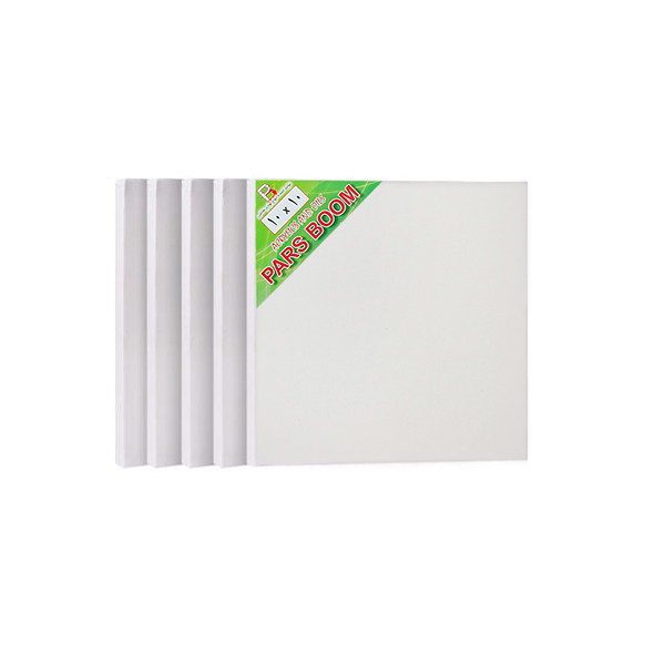 بوم نقاشی پارس بوم مدل PBW سایز 10×10 سانتی متر بسته 5 عددی
