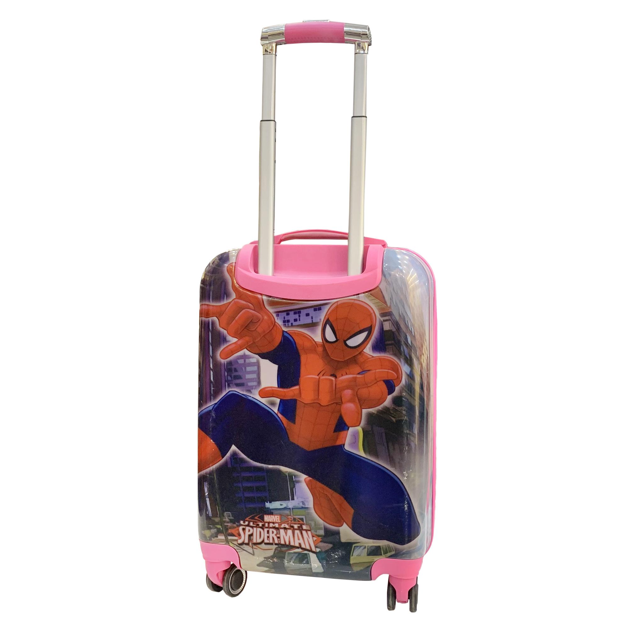 چمدان کودک مدل مرد عنکبوتی کد C014