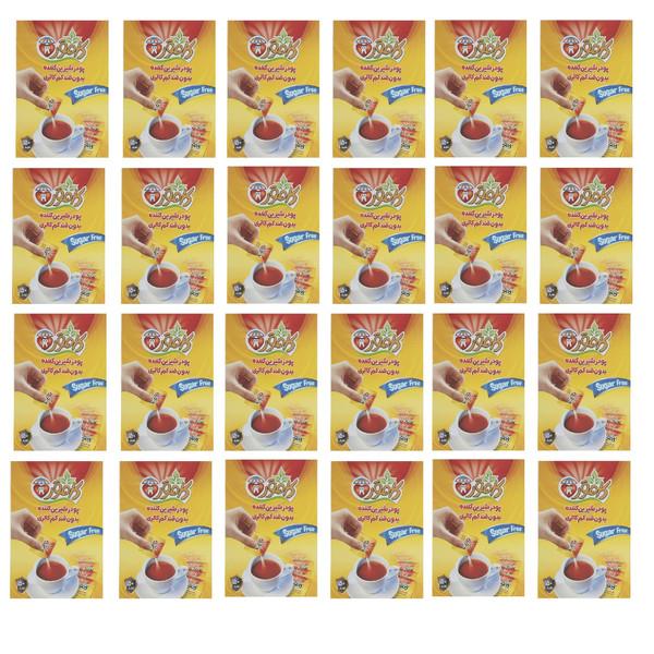 پودر شیرین کننده بدون قند کم کالری کامور - 50 گرم بسته 24 عددی